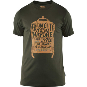 Fjällräven Kånken T-Shirt Homme, deep forest
